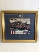The 51 Inauguration Of President George Bush W Seal Of House Of Representative.