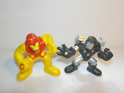 Marvel Super Hero Squad Lot Thor Buster Iron Man Action And War Machine Figures