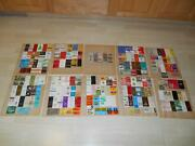 Old Vtg Matchbook Collection Advertising 100s And 100s Matches Estate Buy