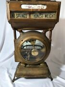 Antique/vintage Toledo Honest Weight Grocery Scale 384by