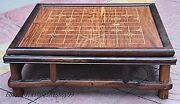 24 Chinese Huanghuali Wood Handcrafted Multifunctional Chess Table Desk Statue