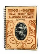 E J Tangerman / 1001 Designs For Whittling And Woodcarving Signed 1st Ed 1976