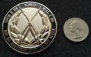 Rare Usadt Old Guard Drill Team 3rd Infantry Reg Tog Sa Tattoo Challenge Coin