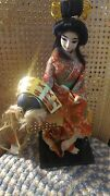 Vintage Japanese Doll Japanese Dancer By Nishi And Co