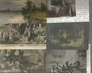 43 Russian Painting Old Postcards