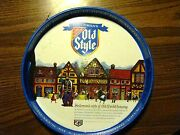 Vintage Heilemanand039s Old Style Beer Tray Usa Collectible Brewery Collector 4 Sided