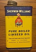 Vnt Sherwin-williams Pure Boiled Linseed Oil Can Sherwin-williams Co Cleveland