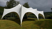 Waterproof Commercial Wedding Event Stage Yard Patio Beach Bedouin Stretch Tent
