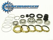 Synchrotech Carbon Master Rebuild Kit For 89-91 Acura Integra Ls/gs