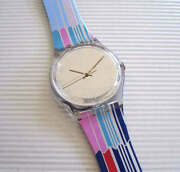 Traffic Lights Retro Vertical Stripes Swatch Nib-rare