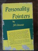 Personality Pointers Jill Edwards +postcard Self Help Radio Signed Cover Damaged