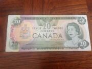 20 Canada Dollars Banknote Dated 1979