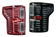 Morimoto Xb Led Tail Lights Red/smoked Plug And Play For 15-18 Ford F-150 Non-blis