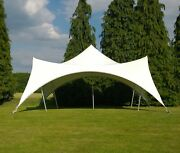 Waterproof Commercial Wedding Event Stage Patio Party Bedouin Stretch Tent New