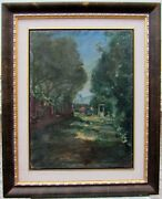 George Baer Exquisite Large Oil Signed And Dated 1927 American