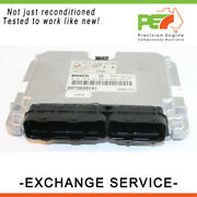 Reman. Oem Engine Control Module Ecm For Holden Rodeo Tf 3.0l 4jh1 Man-exch.