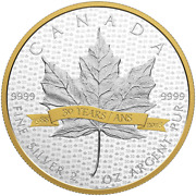 2018 Canada 10 Iconic Sml 30 Years Anniversary 1998-2018 - Pure Silver Coin