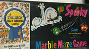 Spooky Marble Maze Game-vintage 1971-factory Sealed Free Shipping