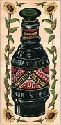 1880and039s H.n. Deatrick Martinsburg W.va A. Bartlett Bottle Dressing Trade Card Andg
