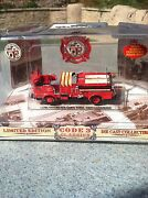Limited Edition Code 3 Lafd Comp Set Nib 24-piece Er Fire Vehicles Collectible
