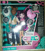 Monster High Clawd Wolf And Draculaura Set Unique, Forbidden Love New In Box