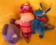 Disney Doc Mcstuffins Plush - Squeakers Hallie And Stuffy Lot Of 3 Toys