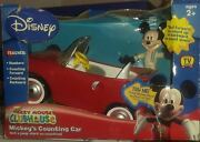 Disney Mickey Mouse Clubhouse Mickey's Counting Car Retired