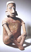 Tall Pre-columbian Jalisco Figure Ex Sothebys And03978