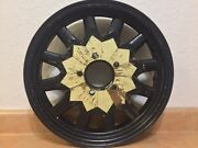 Kelsey Hayes K-h Wood Spoke Automobile Wheel Steel Rim 18andrdquox 3.25andrdquo 1201 Nos 1932