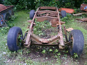48 49 50 51 52 53 Dodge Pu Truck Chassis Parts Spare Tire Bump 4 Hot Rat Rod