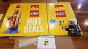 Lego Hot Dog Deals Toys R Us Store Display Sign Lego Bin Wrap Brand New Toysrus