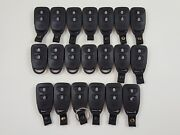 Lot Of 20 Hyundai Accent 14-16 Key Less Entry Remote Fob Oem Car Alarm 3-button