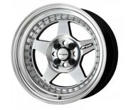 Work Meister Cr01 Buffing Finished 15x8.0j +7 4hx114.3 Set Of 4 From Japan