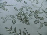 10y Scalamandre Hope Toile French Cntry Sage Green On Natural Msrp160/y