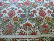 Tassinari And Chatel Scalamandre Louise Marie French Court Print Cotton 4.4y 1317