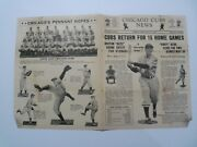 Chicago Cubs News Letter Vol 3 4 May 30, 1938 Pennant Hopes Listing 2