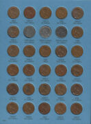 1941-1974 Lincoln Cent Collection In A New Whitman Folder