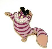 Rare Le Disney Pin ✿ Alice In Wonderland Cheshire Cat Mickey Mouse Ears Icon Hat