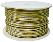 Seachoice 40170 Gold/white Double Braid 1/2x 600and039 High Grade Nylon Rope Lc