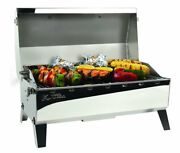 Camco-armada Stow And Go 160 Sq Cooking Area Gas Grill Stainless Steel 58130 Lc