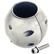 Martyr Anodes Streamlined Zinc Shaft With Stainless Steel Allen Head Cmx10 Lc