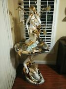 One Of A Kind Vintage Fountain Floor Lamp
