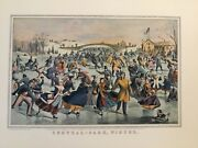 Currier And Ives Lithograph Traveler 1936,37 Calendars 88/100 Special Edition