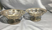 Frank M. Whiting Antique Weighted Sterling Silver Candy Dish Campote