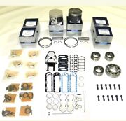 😊mercury/mariner 210 Hp 2.5l Carbureted Sportjet 6-cyl Powerhead Rebuild Kit