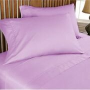 1000 Thread Count Egyptian Cotton Premium Bedding Item All Sizes Lilac Solid
