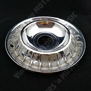 1961-1963 Ford Thunderbird 14 Stainless Wheel Cover No Spinner C3sz1130a Ac-4