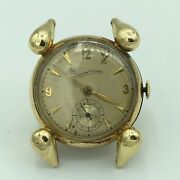 1940and039s Lucien Picard Swiss 14k Yellow Gold 17j Unadjusted Wrist Watch No. B10942