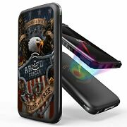10000 Mah Power Bank Battery Wireless Charging Fast Charge-armed Forces Eagle