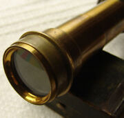 Vintage Brass Telescope For Special Theodolite B.t.o.n.